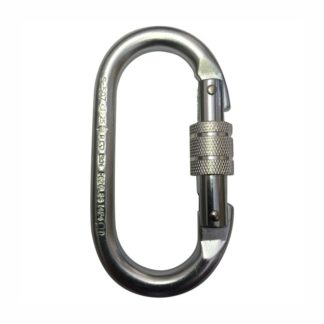 USA Steel Oval Karabiner